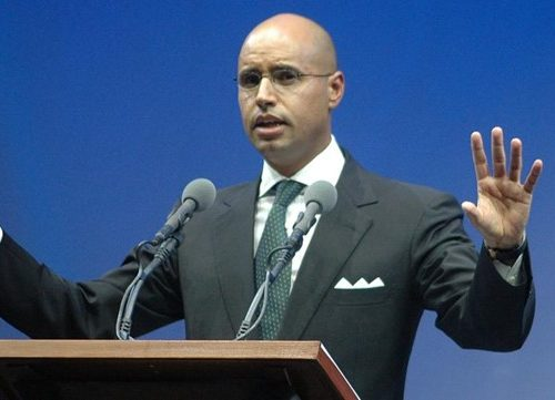 L'uomo della seconda Jamahiriya: Saif al-Islam Gheddafi.