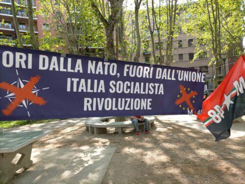 VIVA IL 25 APRILE! VIVA LA LOTTA PER L'ITALIA SOCIALISTA!