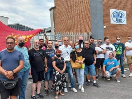 Solidarietà ai lavoratori della Gianetti Ruote!