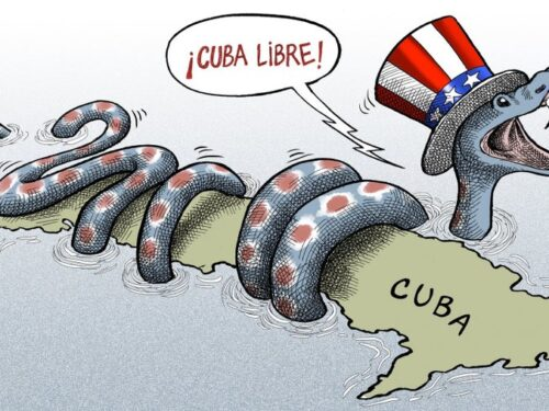 Dalla parte di Cuba, contro l'imperialismo